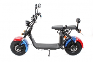 eFlux Harley Two Elektro Scooter 1500 Watt 60 Volt 20AH