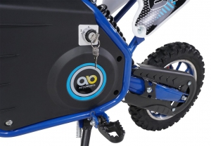 Kinder Mini Elektro Crossbike Viper 1000 Watt Blau