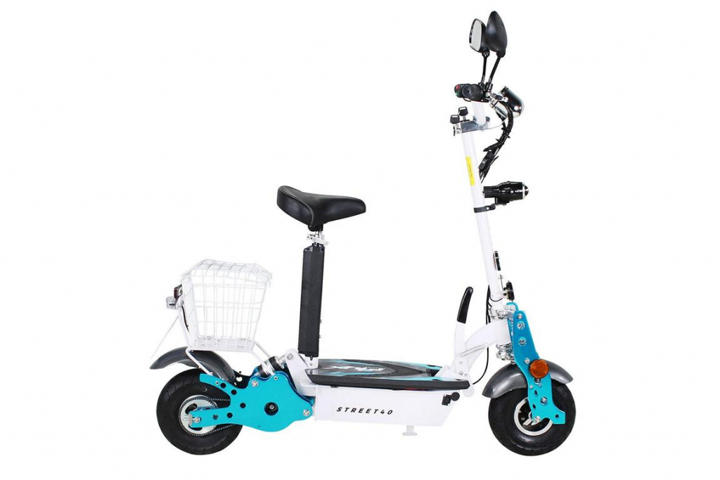 eflux street 40 elektro roller scooter. Black Bedroom Furniture Sets. Home Design Ideas