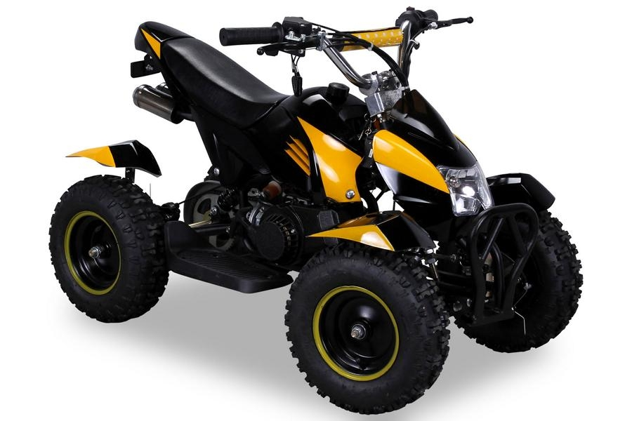 cobra 49 cc mini kinder atv pocketquad 2 takt quad. Black Bedroom Furniture Sets. Home Design Ideas