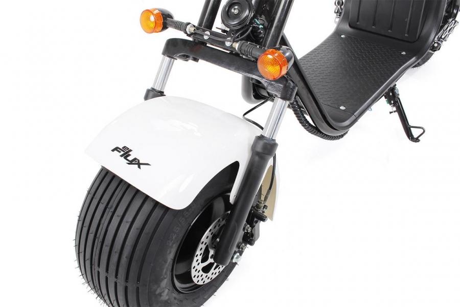 eflux harley two elektro scooter 1500 watt. Black Bedroom Furniture Sets. Home Design Ideas