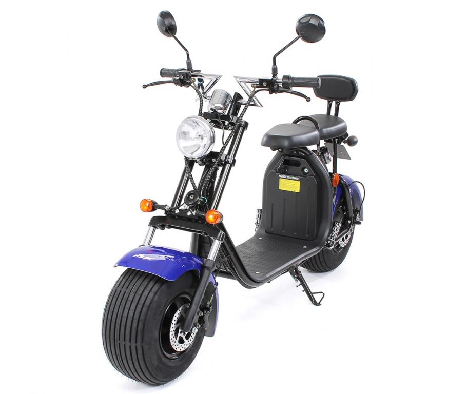eflux harley two elektro scooter 1500 watt 60 volt. Black Bedroom Furniture Sets. Home Design Ideas
