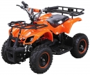 Kinder Elektro Miniquad Torino 800 Watt Kinderquad Orange