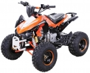 Kinder Quad ATV 125cc S-12 Kinderquad Benzin Orange/Weiß