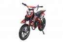 Kinder Mini Crossbike Gepard 2-Takt Tuning Kupplung Easy Pull Start Rot