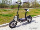 Elektro Scooter 1000 Watt E-Scooter Elektroroller Carbon