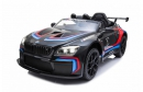 Jamara Kinderauto Ride-on BMW M6 GTR3 schwarz